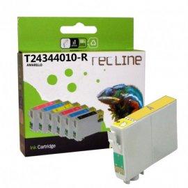 Cartucho Compatiple Edson Inyeccion Tinta Magenta T 26334010r 700 P