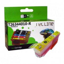 Cartucho Compatible Epson Inyeccion Tinta Amarillo T 26344010r