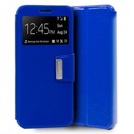 Funda Libro Samsung A10 Azul