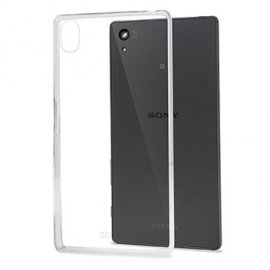 Funda Silicona Sony Z5 Transparente