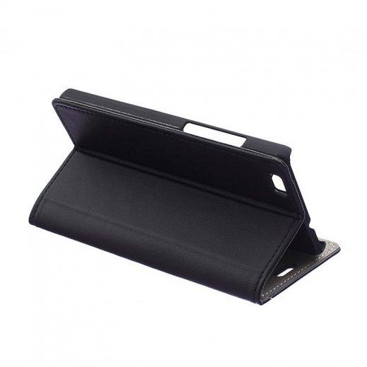 Funda Libro Huawei P8 Lite Negra - Foto 1