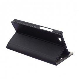 Funda Libro Huawei P8 Lite Negra
