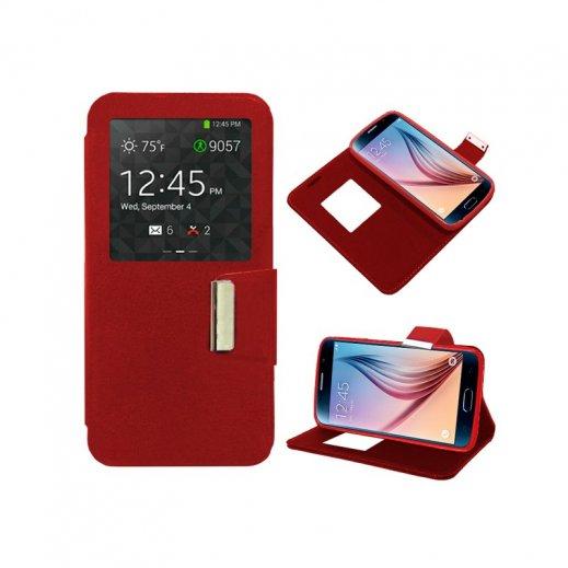 Funda Libro Samsung Galaxy S7 Roja - Foto 1
