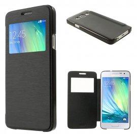 Funda Libro Samsung Galaxy S7 Negra