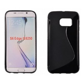 Funda Silicona Samsung Galaxy S7 Edge Negra