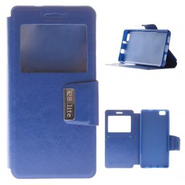 Funda Libro Huawei P8 Lite Azul
