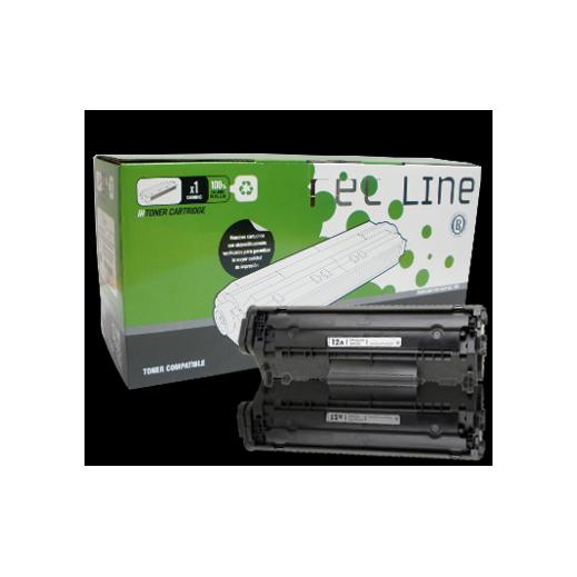 Toner Compatible Negro con Hp Laserjet Q2612a-r - Foto 1