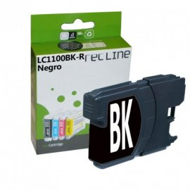 Cartucho Negro Compatible Brother Lc1100bk R