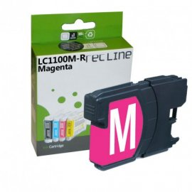 Cartucho Magenta Compatible Brother Lc1100mr
