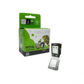 Cartucho Negro Compatible Hp Deskjet C9351ar 21 Xl