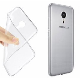Funda Silicona Transparente Meizu M3 Mini