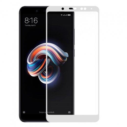 Protector Cristal Templado Xiaomi Redmi Note 5 3d Blanco - Foto 1