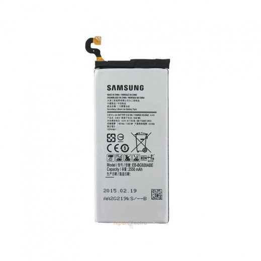 Bateria Samsung G920 Galaxy S6 Bg920abe - Foto 1