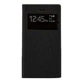 Funda Clear View N960 Note 9 Negra