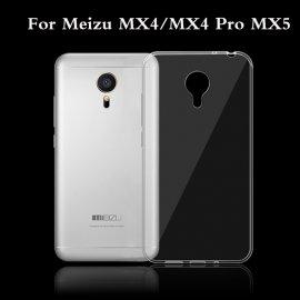 Funda Silicona Ultrafina Transparente Meizu Mx4 Pro