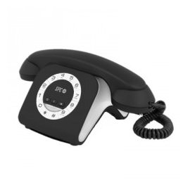 Telefono Spc Retro Elegante Mini Negro 3609