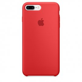 Funda Silicona Iphone 7 Roja