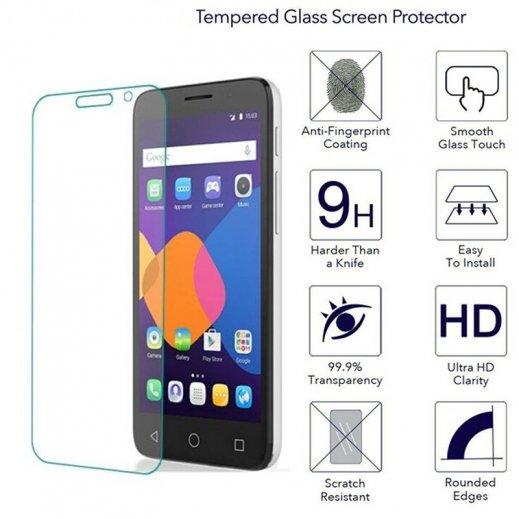"""Protector Cristal Templado Alcatel Pixi 4 6.0"""" - Foto 1"""