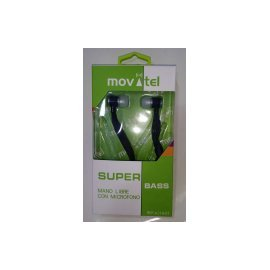 Auriculares Movatel Stereo Bass Type Iphone Wj001