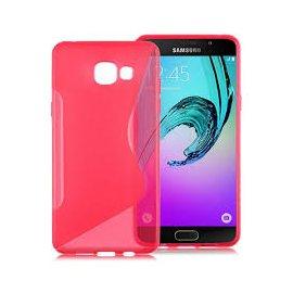 Funda Silicona Samsung Galaxy A5 2016 Rosa