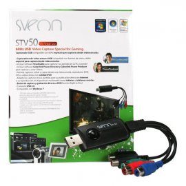 Capturadora de Video Externa Usb Sveon