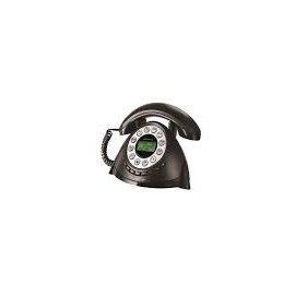 Telefono Temporis Retro Alcatel Negro