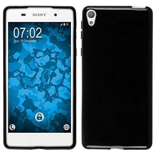 Funda Silicona Sony Xperia E5 Negra - Foto 1