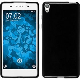 Funda Silicona Sony Xperia E5 Negra