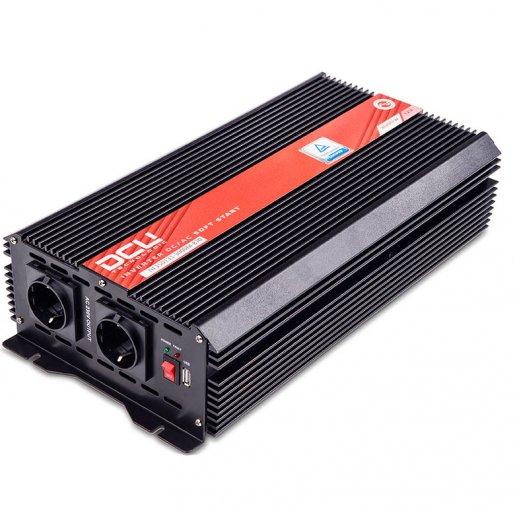 Inversor Dcu 12v 3000w Onda Senoidal Modificada Tuv - Foto 1