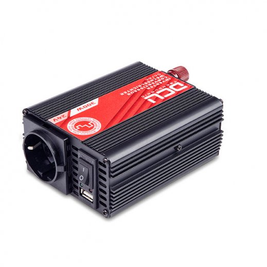 Inversor 24vcc/230vca 300w Usb Senoidal Modificada Tuv - Foto 1
