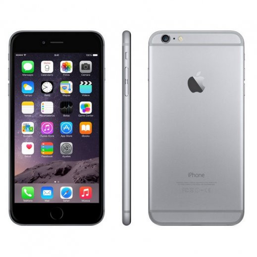 Iphone 6 Plus 16gb Gris Reacondicionado - Foto 1