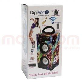 Altavoz Karaoke con Bluetooth Digivolt Kts663