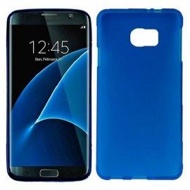 Funda Silicona Samsung Galaxy S7 Edge Azul