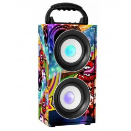 Altavoz Digivolt Hifi 21 Bluetooth Fm Micro Karaoke