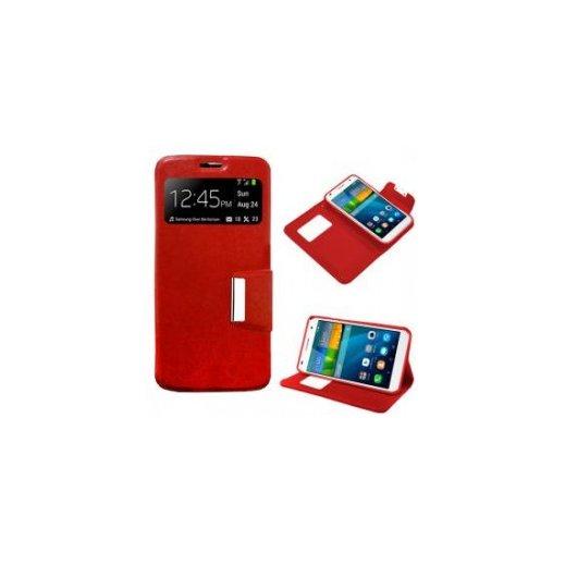 Funda Libro Huawei Ascend P9 Roja - Foto 1