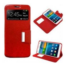 Funda Libro Huawei Ascend P9 Lite Roja