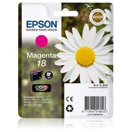 Cartucho Original Epson Nº18 Magenta