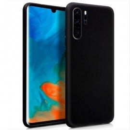 Funda Silicona Huawei P30 Pro Negra