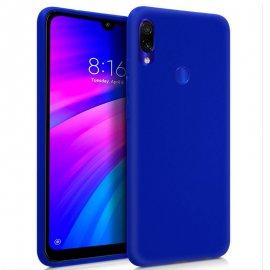 Funda Silicona Xiaomi Redmi 7 Azul