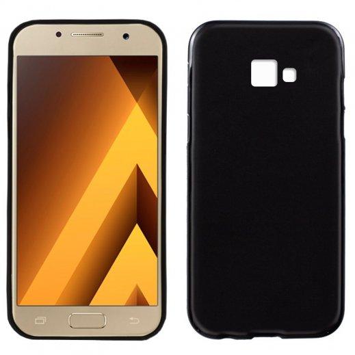 Funda Silicona Samsung Galaxy A3 2017 Negra - Foto 1