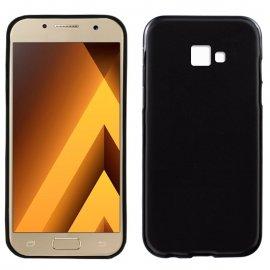 Funda Silicona Samsung Galaxy A3 2017 Negra