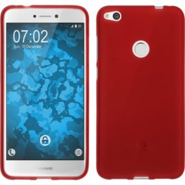 Funda Siilicona Huawei P8 Lite 2017 Roja
