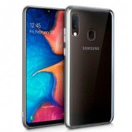 Funda Silicona Samsung A20e Transparente