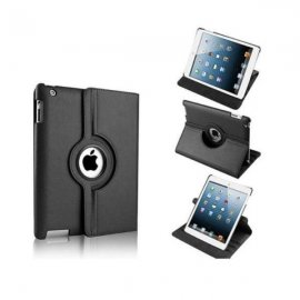 Funda Ipad Mini 2/3/4 Giratoria Negra