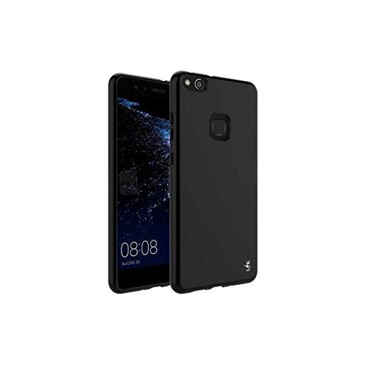 Funda Silicona Huawei P10 Lite Negra - Foto 1