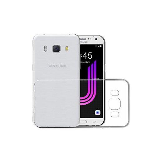 Funda Silicona Samsung Galaxy J7 2017 Transparente - Foto 1