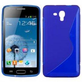 Funda Silicona Samsung Galaxy J5 Azul
