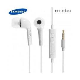 Auricular Original Samsung Blanco / Negro
