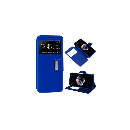 Funda Libro Xiaomi Redmi Note 5 Pro Azul - Foto 1