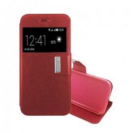 Funda Libro Samsung Galaxy S8 Roja